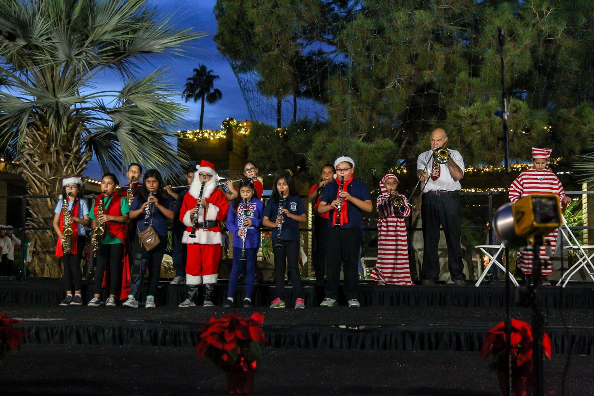 Picture of Indio Tree Lighting Ceremony
