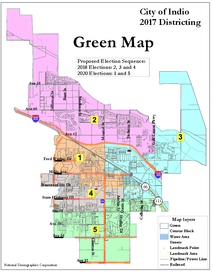 Map Of California Indio.City Of Indio News Details